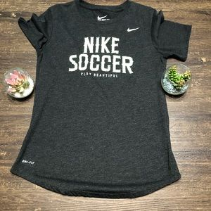 NIKE DriFit Athletic soccer  Top